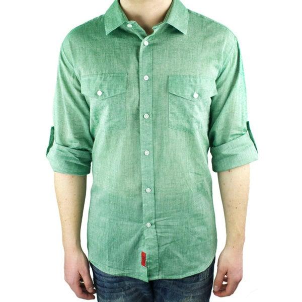 Elie Balleh Brand Men's 2015 Style Slim Fit Casual Shirt