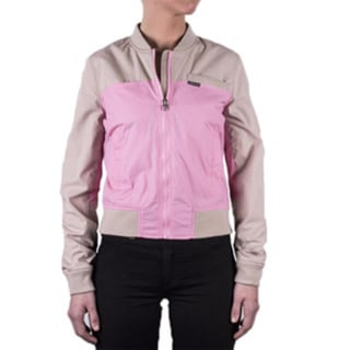 Women's Color Block Baseball Jacket