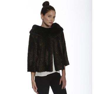 Women's Vintage Faux Fur Jacket