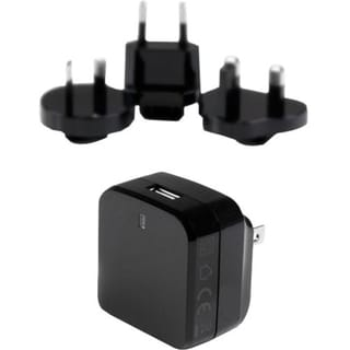StarTech.com USB wall charger with Quick Charge 2.0 - Black - Travel