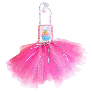 Just Girls Birthday Pink Cupcake Tutu Dress