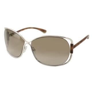 Tom Ford Women's TF0156 Eugenia Oversize Sunglasses