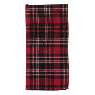 Plaid Design Napkin - set of 4