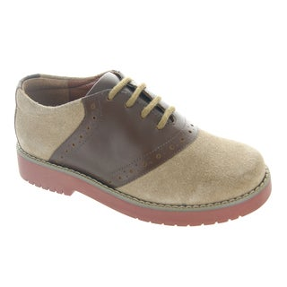 Academie Gear Men's Eyelet Lace-up Oxfords
