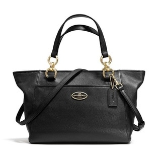 Coach Chicago Mini Ellis Tote - Light Gold/Black