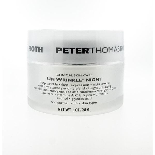 Peter Thomas Ross 1-ounce Un-Wrinkle Night Cream