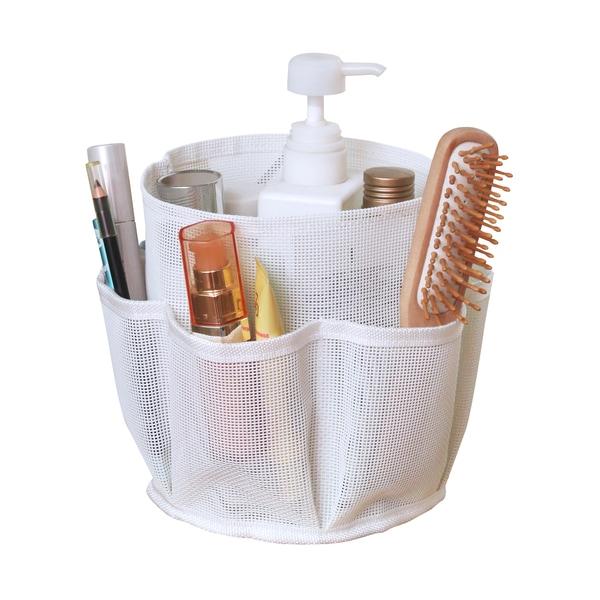 Practical Mesh Cosmetic Bag/ Bathroom Organizer