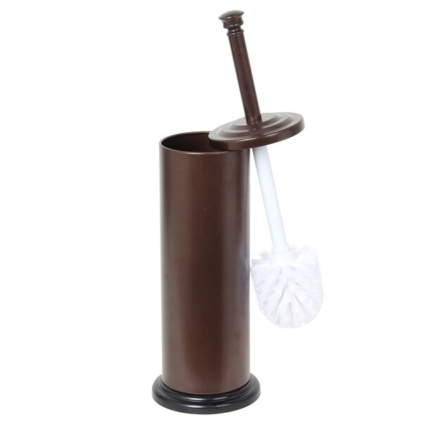 Rust-resistant Bronze Non-skid Toilet Brush Holder
