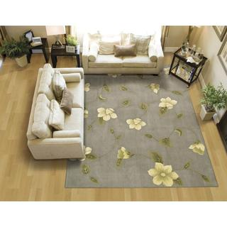 Rug Squared Beaumont Grey Rug (3'6 x 5'6)