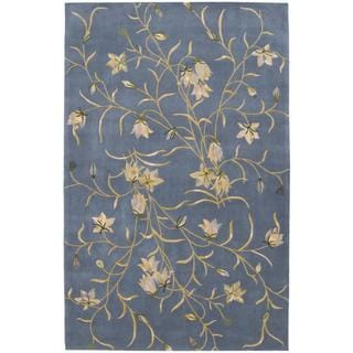 Rug Squared Beaumont Light Blue Rug (5'3 x 8'3)