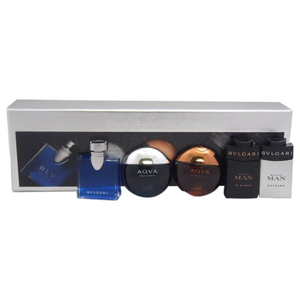 Bvlgari The Men's 5-piece Gift Collection