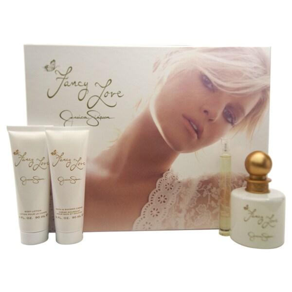 Fancy Love 4 Piece Gift Set For Women By Jessica Simpson Eau De Parfum NIB