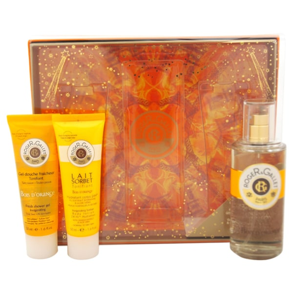 Roger & Gallet Bois D'Orange Unisex 3-piece Gift Set