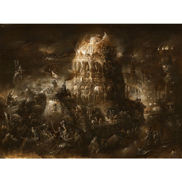 Marmont Hill Collective 'Tower of the Damned' Canvas Art