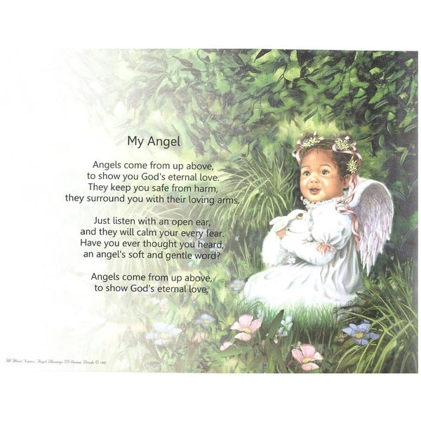 Angel Blessings II Print