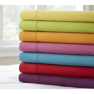 Super Brights Collection Mircofiber Sheet Set