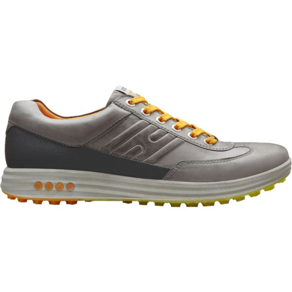 ECCO Men's Street EVO One Spikeless Wild Dove/ Dark Shadow Golf Shoes