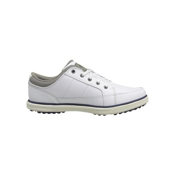 Callaway Men's Del Mar Sport 342-17 Spikeless White/ Grey Golf Shoes