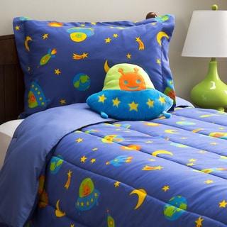 Microfiber Alien 4-piece Comforter Set