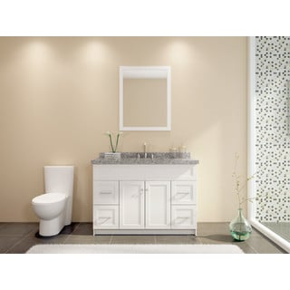 Hamlet 49-inch Single Sink Vanity Set in White