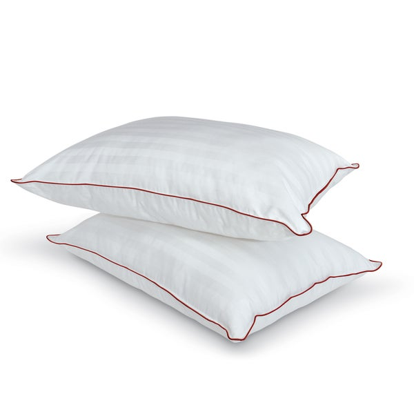 Hotel Laundry Medium/ Firm Density Pillow (Set of 2)