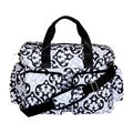 Trend Lab Scroll Deluxe Duffle Diaper Bag