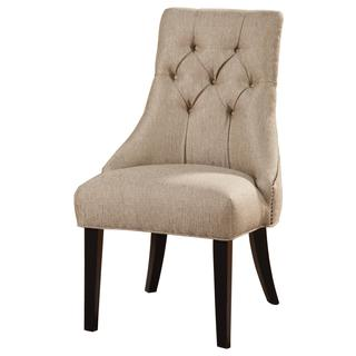 Zhitomir Tufted Nailhead Accent Chair