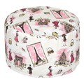 Trend Lab Waverly Tres Chic Petite Pouf Chair