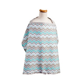 Trend Lab Seashore Waves Nursing Cover