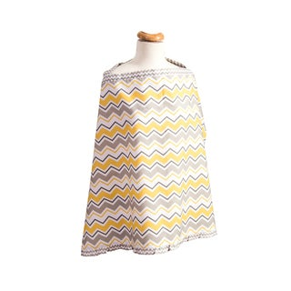 Trend Lab Buttercup Zig-zag Nursing Cover