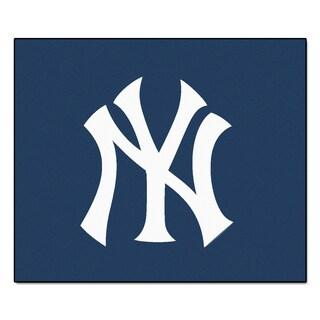 Fanmats Machine-Made New York Yankees Blue Nylon Tailgater Mat (5' x 6')