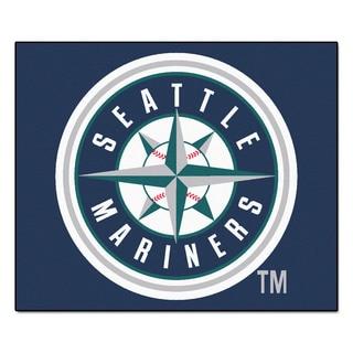 Fanmats Machine-Made Seattle Mariners Blue Nylon Tailgater Mat (5' x 6')
