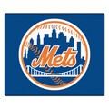 Fanmats Machine-Made New York Mets Blue Nylon Tailgater Mat (5' x 6')