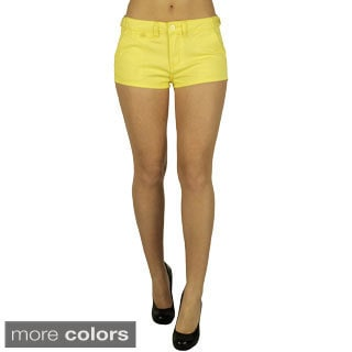 Ladies Four Pocket Colored Shorts