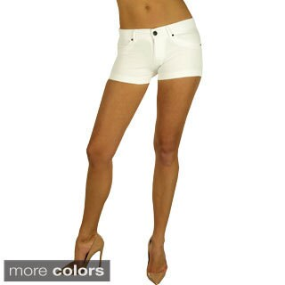 Ladies Ponte Shorts with Back Pockets