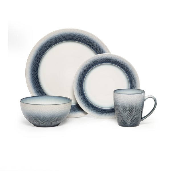 Pfaltzgraff Eclipse Blue Dinnerware 16-piece Set