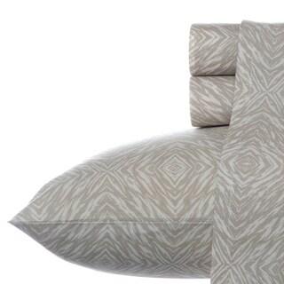 Steve Madden Cori Beige Animal Cotton Sheet Set