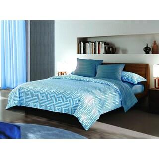 Sherry Kline Labyrinth Print Reversible 3-piece Comforter Set