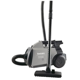 Sanitaire S3686E Heavy Duty Bagged Canister Vacuum with Onboard Tools
