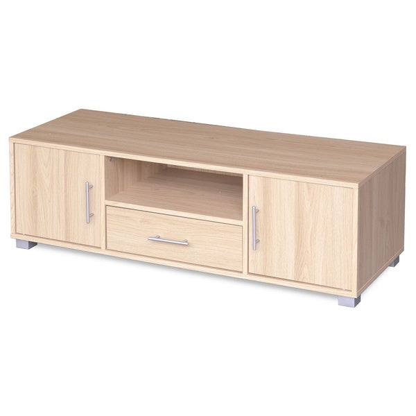 Sorento Entertainment Cabinet Oak 2 Doors 1 Drawer