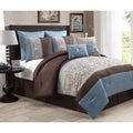 Avondale Manor Sakura 8-piece Embroidery Comforter Set