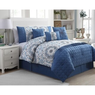 Avondale Manor Anita 7-piece Printed Comforter Set