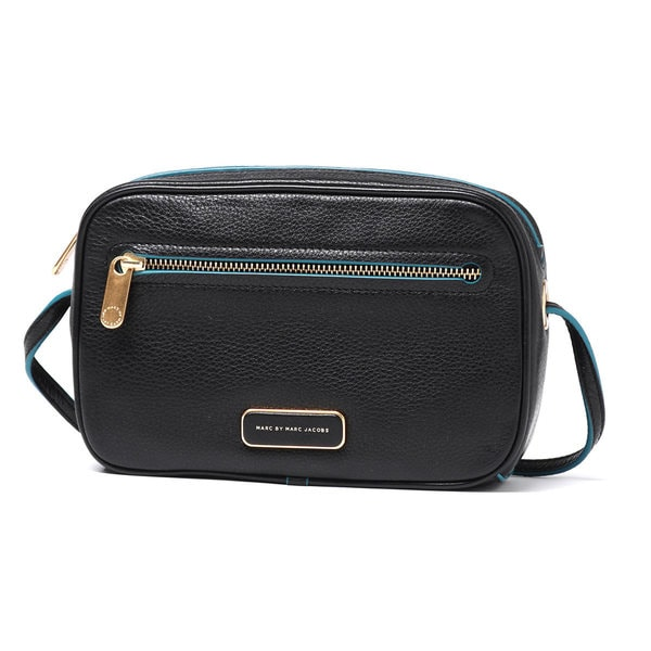 Marc by Marc Black Jacobs Sally Black Leather Crossbody Bag