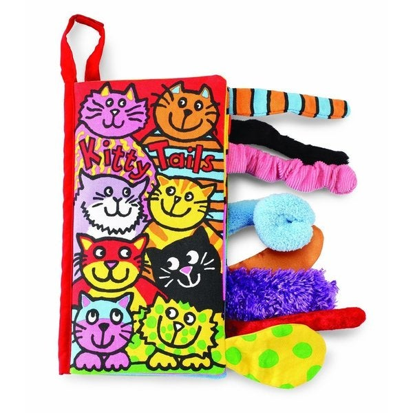 Jellycat Soft Books, Kitty Tails