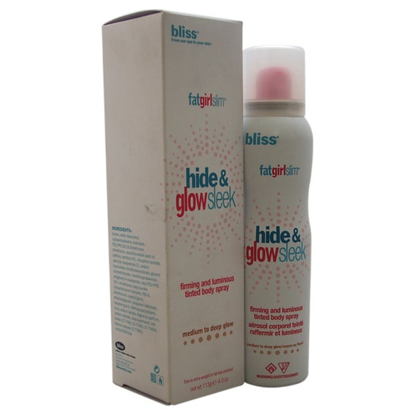 Bliss FatGirlSlim Hide and Glow Sleek Medium to Deep Glow