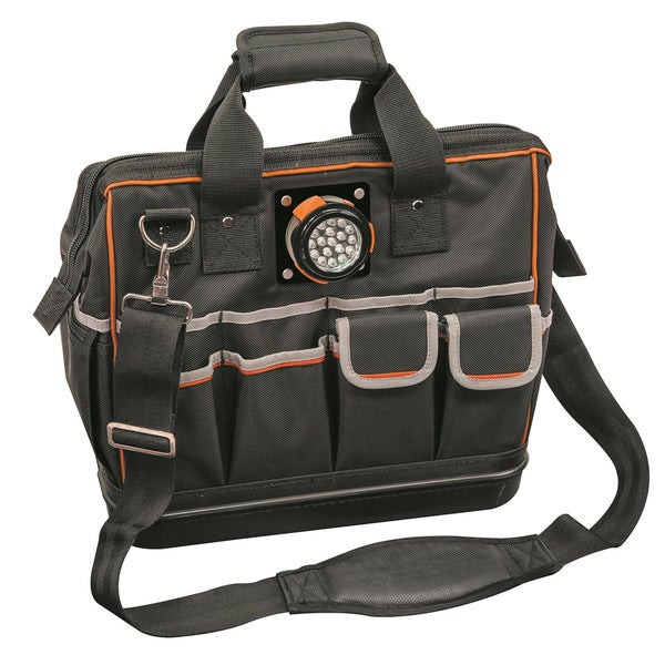 Klein Tools Tradesman Pro Carrying Case for Tools - Black