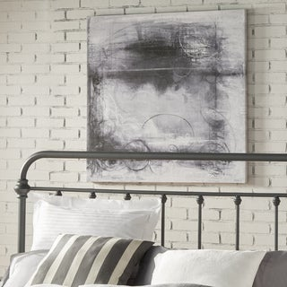 Black & White Oasis Wrapped Giclee Print Canvas Wall Art