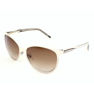 Gucci Women's 4255/S Metal Oval Modified Sunglasses