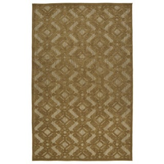 Indoor/Outdoor Luka Light Brown Nomad Rug (7'10 x 10'8)