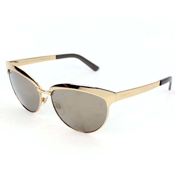 Gucci Women's 4249/S Metal Cat Eye Sunglasses